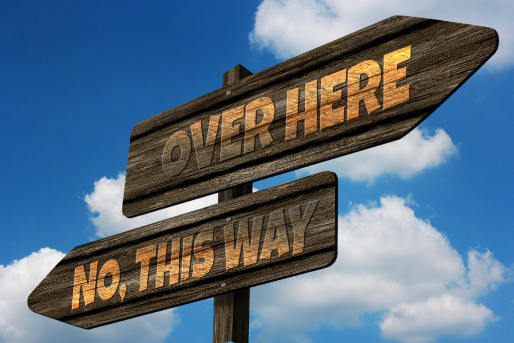 Does God Have a Plan_directional signs