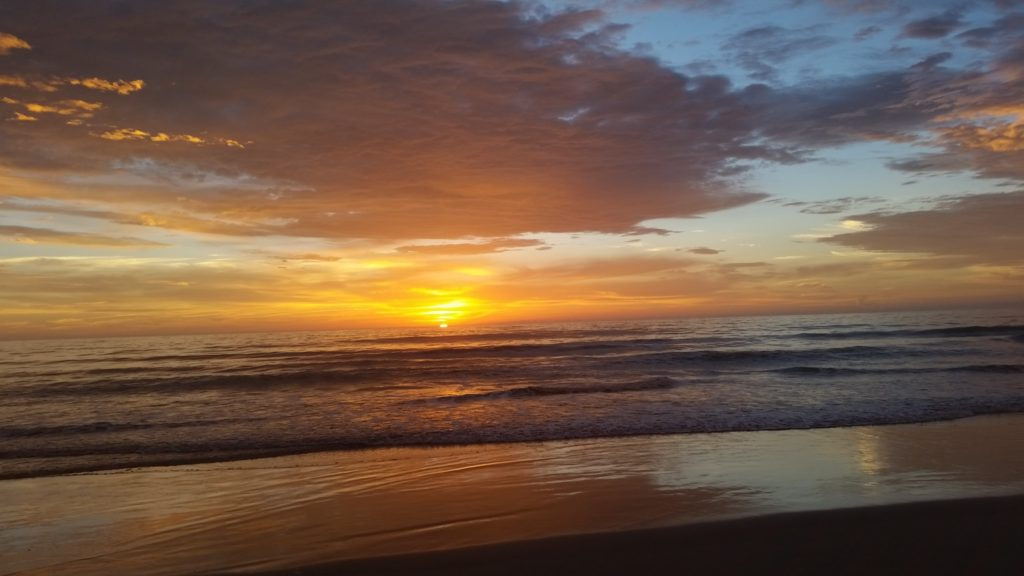 How Worshiping the Beautiful One Flips Your Perspective_sunrise over ocean at beach