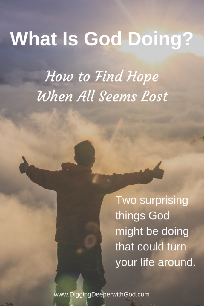 What Is God Doing?