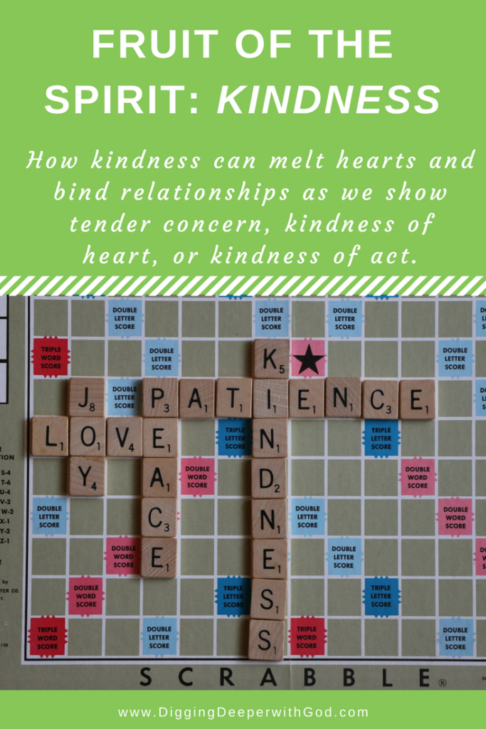 Fruit of the Spirit: Kindness of Heart and Action