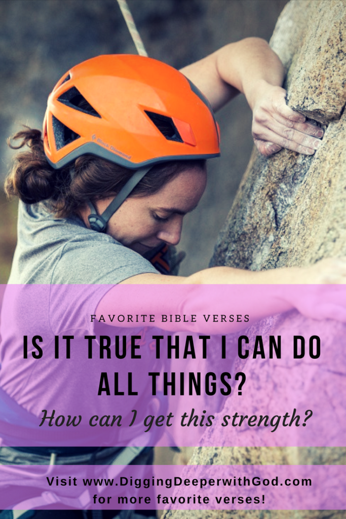 Is It True that I Can Do All Things?