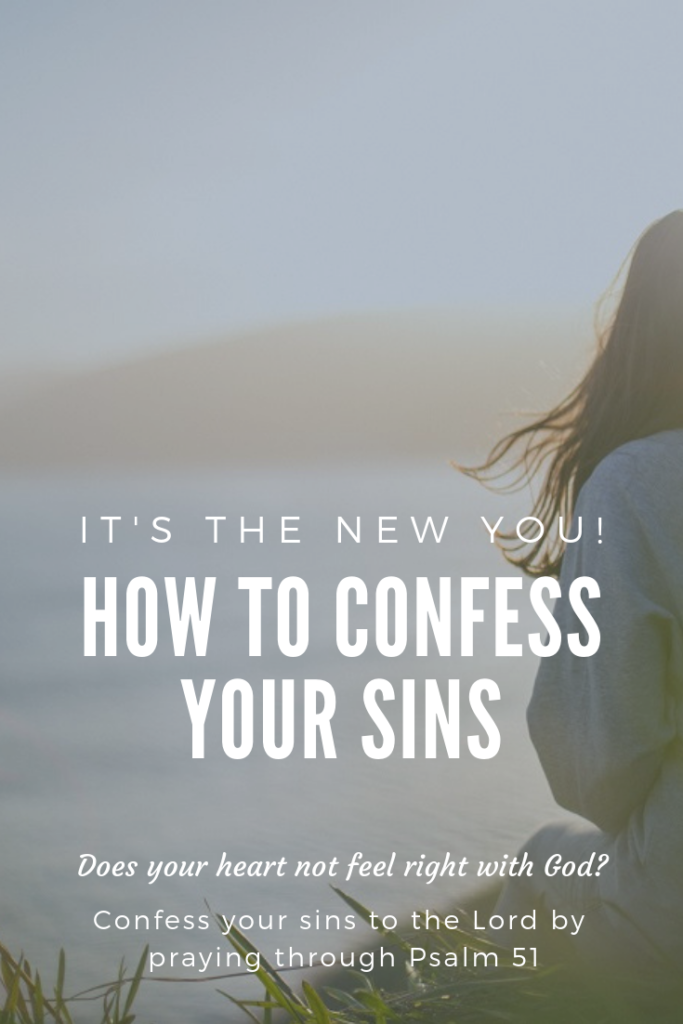 How to Confess Your Sins to the Lord